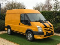 USED 2011 60 FORD TRANSIT 2.2 330 SHR 1d 140 BHP NO VAT A Perfect Driving Example of the Heavy Payload 330 with the More Powerful 140 BHP Engine Designed to Move Heavy Loads and with Larger Wheels for Greater Ground Clearance. The Vehicle was Owned by JCB as Support Vehicle and as been Maintained Perfect Full Ford Service History. The Previous Owner of this Two Owner vehicle as Styled the Vehicle to Promote is Motorcross Activities and as the Ford ST Bumper Complete with Racing Stripes and is Fully Carpeted Throughout and is Ready for Anything