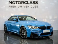 USED 2016 16 BMW M4 3.0 M4 COMPETITION PACKAGE 2d 444 BHP
