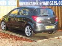 USED 2012 12 VAUXHALL CORSA 1.4 SE 5d 98 BHP HEATED FRONT SEATS, AIR CON