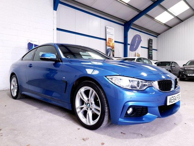 USED 2015 64 BMW 4 SERIES 2.0 420D XDRIVE M SPORT 2d 181 BHP