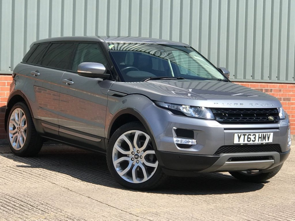 USED 2013 63 LAND ROVER RANGE ROVER EVOQUE 2.2 SD4 PURE TECH 5d 190 BHP EXCELLENT CONDITION AND FANTASTIC VALUE 4X4