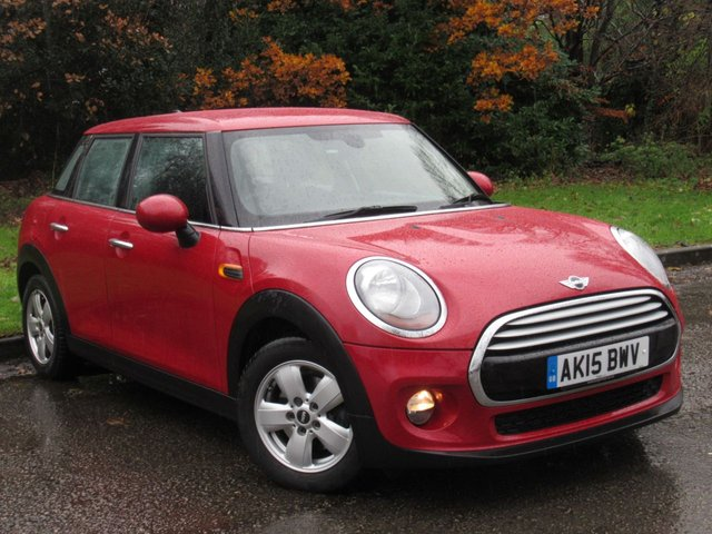 USED 2015 15 MINI HATCH COOPER 1.5 COOPER 5d 134 BHP FULL SERVICE HISTORY, MOT MAY 2020