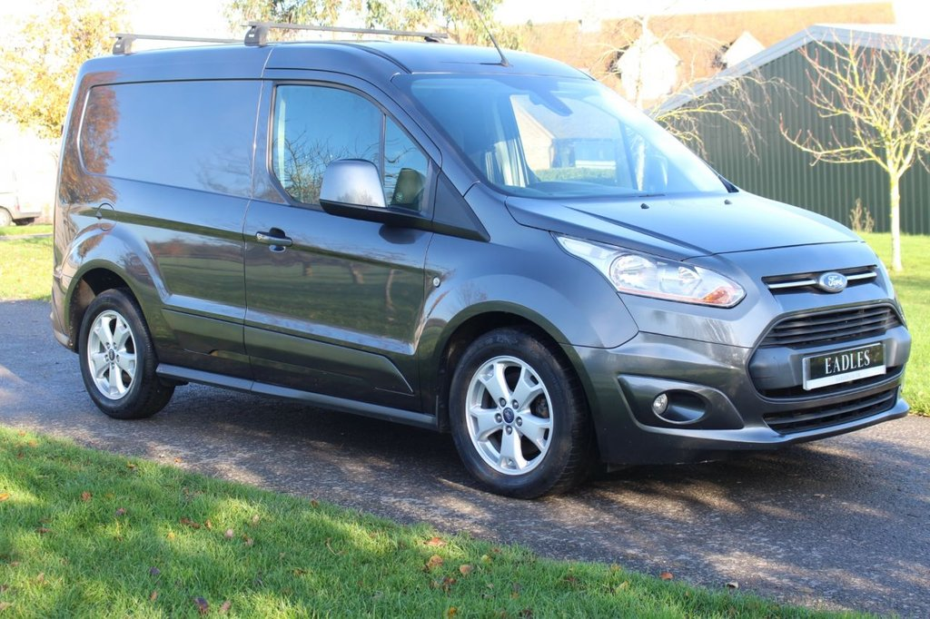 USED 2015 15 FORD TRANSIT CONNECT 1.6 200 LIMITED P/V 114 BHP Limited - Dark Grey - Complementary Warranty - One owner -