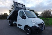 USED 2016 66 RENAULT MASTER ML35 BUSINESS  TIPPER DRW 2.3 DCI 125 BHP One Company Owner 43000 Miles, Popular Double Rear Wheel Model Fitted With Scatalini Bison Tipper Body, Very Clean Example!