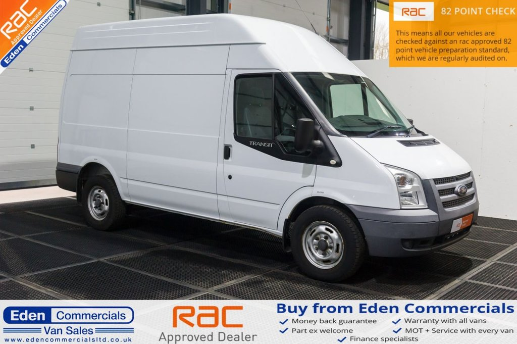USED 2014 63 FORD TRANSIT 2.2 350 124 BHP / MEDIUM / MWB * HIGH ROOF * RAC APPROVED