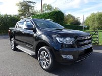 2016 FORD RANGER WILDTRAK 4X4 DOUBLECAB PICK UP 3.2 TDCI 200 BHP £16995.00