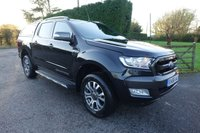 USED 2016 66 FORD RANGER WILDTRAK 4X4 DOUBLECAB PICK UP 3.2 TDCI 200 BHP Direct From Leasing Company 35000 Miles, Top Of Range Model With Standard Ultimate Specification And Additional Glazed Hardtop! Very Clean Example!