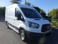 USED 2016 16 FORD TRANSIT 350 FWD L2 H2 MWB MEDIUM HIGHTOP 2.2 TDCI 125 BHP Direct From Leasing Company 65000 Miles, Popular Medium Wheel Base With 3.5t GVW & Air Con! Very Clean Example!!