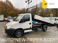 USED 2012 61 IVECO DAILY *NEW TIPPER BODY* AUTOMATIC* 2.3 35S11 Auto