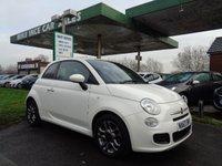 2013 FIAT 500 1.2 S 3d 69 BHP FULL SERVICE HISTORY  £4695.00