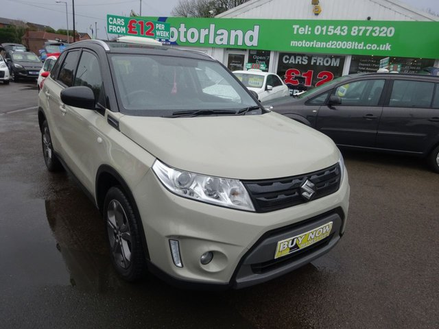 USED 2016 66 SUZUKI VITARA 1.6 SZ-T 5d 118 BHP **JUST ARRIVED..01543 877320**TEST DRIVE TODAY **SAT NAV