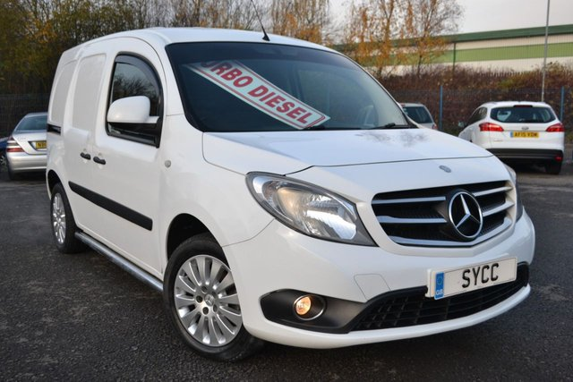USED 2015 15 MERCEDES-BENZ CITAN 1.5 111 CDI SPORT 110 BHP ~ ALLOYS ~ AIRCON RARE SPORT CITAN ~ ALLOYS ~ AIRCON ~ BLUETOOTH ~ 6 MONTHS WARRANTY