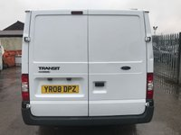 USED 2008 08 FORD TRANSIT T260 85PS SWB LOWROOF **NO VAT**