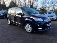 USED 2013 13 CITROEN C3 PICASSO 1.6HDI  PICASSO VTR PLUS  5d WITH SERVICE HISTORY NO DEPOSIT  FINANCE ARRANGED, APPLY HERE NOW