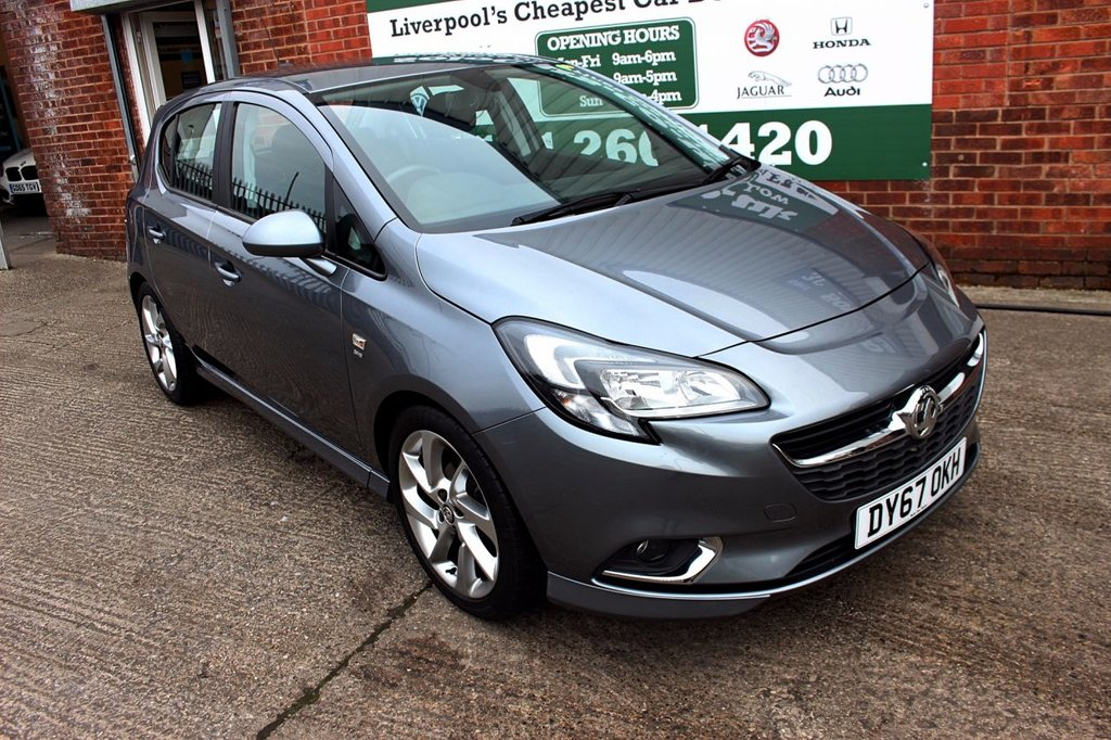 USED 2017 67 VAUXHALL CORSA 1.4 SRI VX-LINE 5d 89 BHP +ONE OWNER +LOW MILES +STUNNER
