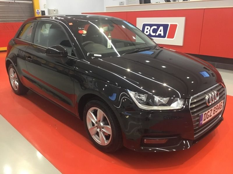 USED 2016 66 AUDI A1 1.0 TFSI SE 3d 93 BHP +ONE OWNER +FREE TAX +LEATHER.