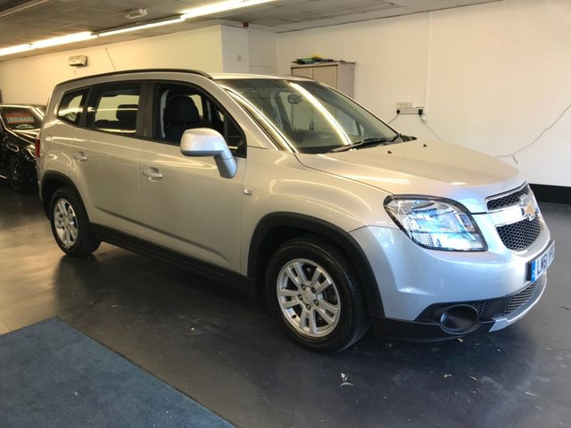 USED 2012 61 CHEVROLET ORLANDO 2.0 LT VCDI 5d 130 BHP 7 SEATER, REAR PARKING SENSORS, NEW 12 MONTH MOT
