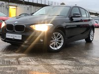 USED 2014 14 BMW 1 SERIES 2.0 116D SE 5d 114 BHP HPICLEAR+CLEANCAR+AUX+USB+CLIMATE+2KEYS+METALIC+AUTO+MEDIA+ELEC+