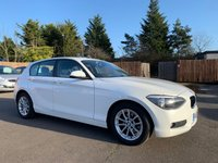 2014 BMW 1 SERIES 2.0 116D SE 5dr AUTO WITH VERY LOW MILEAGE AND BMW SERVICE HISTORY £9000.00