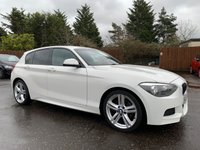 2012 BMW 1 SERIES 2.0 120D M SPORT 5d 181 BHP PRIVACY GLASS IN THE BEST COLOUR £8500.00