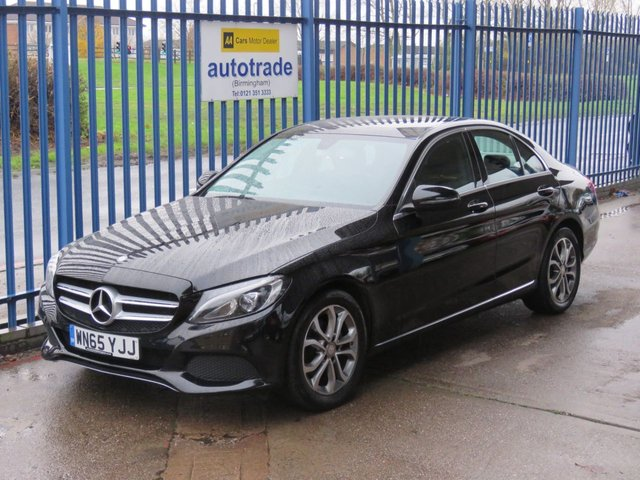 USED 2015 65 MERCEDES-BENZ C CLASS 1.6 C200 D SPORT 4dr Nav Leather Rear camera Heated seats Finance arranged Part exchange available Open 7 days