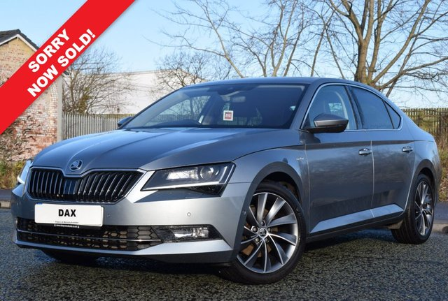 2015 65 SKODA SUPERB 2.0 LAURIN AND KLEMENT TDI DSG 5d 188 BHP