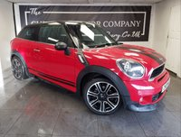 USED 2014 14 MINI PACEMAN 1.6 COOPER S 3d 184 BHP + 1 OWNER WITH EXTRAS