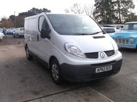 2013 RENAULT TRAFIC 2.0 SL29 DCI S/R 115 BHP £4995.00