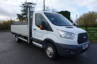 "2016 FORD TRANSIT 350 DRW L4 13ft 6"" DROPSIDE WITH TAILIFT 2.2TDCI 125 BHP £13995.00"