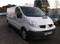 USED 2010 60 RENAULT TRAFIC 2.0 LL29 DCI S/R 115 BHP Economical and Reliable Renault Van! Drives Well! Full Year MOT!
