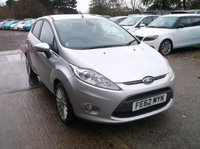 USED 2012 62 FORD FIESTA 1.4 TITANIUM TDCI 5d 69 BHP Great Value Fiesta, Economical, Reliable and Cheap to Run!