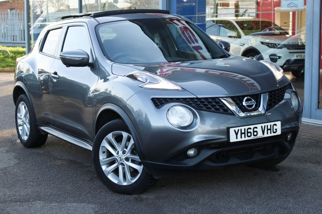 USED 2016 66 NISSAN JUKE 1.5 N-CONNECTA DCI 5d 110 BHP NAV, SUNROOF, CAMERAS, BLIND SPOT