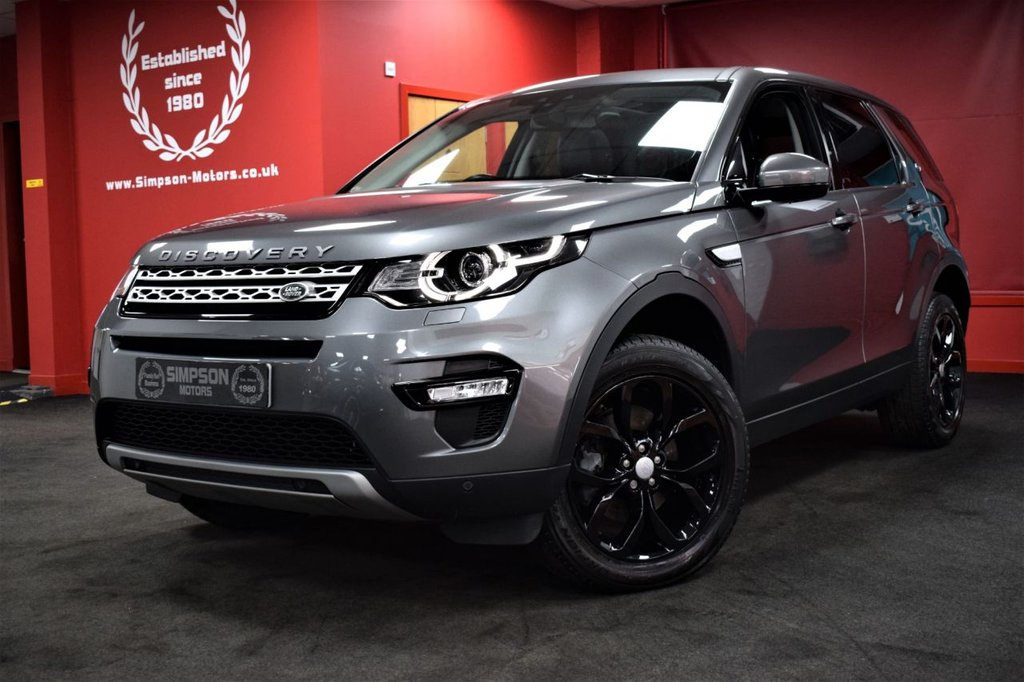 USED 2016 66 LAND ROVER DISCOVERY SPORT 2.0 TD4 HSE 5d 180 BHP 7 SEATS