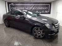 2013 MERCEDES-BENZ C CLASS 2.1 C220 CDI BLUEEFFICIENCY AMG SPORT PLUS 2d 168 BHP £8275.00