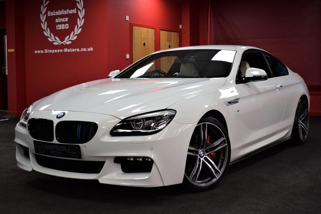 USED 2016 66 BMW 6 SERIES 3.0 640D M SPORT 2d AUTO 309 BHP