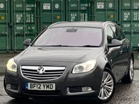 USED 2012 12 VAUXHALL INSIGNIA 2.0 CDTi ecoFLEX 16v Elite (s/s) 5dr ElectricSeats/Leather/Xenons