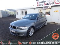 USED 2009 59 BMW 1 SERIES 120D M SPORT GOOD AND BAD CREDIT SPECIALISTS! APPLY TODAY!