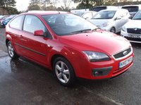 USED 2007 07 FORD FOCUS 1.6 ZETEC CLIMATE D 3d 108 BHP Economical Focus, Good Service History, Long MOT, 2 Keys!