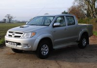 USED 2008 58 TOYOTA HI-LUX 2.5 4X4 D-4D D/C 118 BHP www.suffolkcarcentre.co.uk - Located at Ilketshall