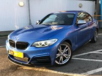USED 2014 14 BMW M2 3.0 M235I 2d 322 BHP SAT NAV, FULL LEATHER !!