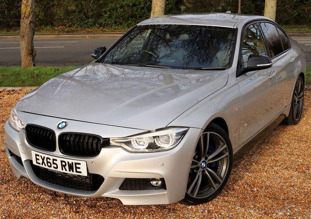 2015 65 BMW 3 SERIES 3.0 330D M SPORT 4d 255 BHP/ SAT NAV/ HEATED SEATS/ XENONS
