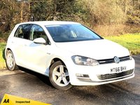USED 2016 66 VOLKSWAGEN GOLF 1.0 MATCH EDITION TSI BLUEMOTION  5d 114 BHP * 6 SPEED MANUAL GEARBOX * 12 MONTHS FREE AA BREAKDOWN COVER *
