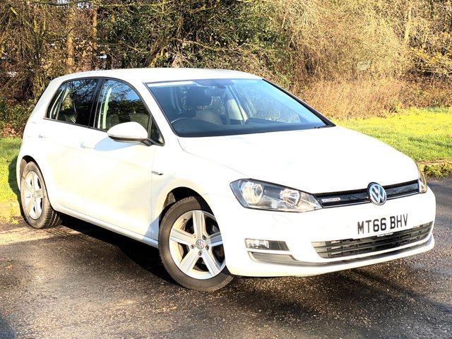 USED 2016 66 VOLKSWAGEN GOLF 1.0 MATCH EDITION TSI BLUEMOTION DSG 5d 114 BHP * 6 SPEED MANUAL GEARBOX * 12 MONTHS FREE AA BREAKDOWN COVER *