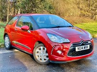 USED 2014 14 CITROEN DS3 1.2 DSIGN 3d 82 BHP * SERVICE HISTORY * AIR CON *
