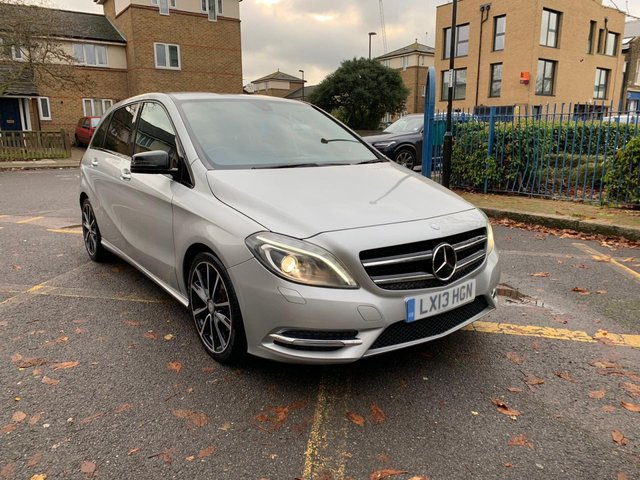 2013 13 MERCEDES-BENZ B CLASS 1.6 B180 BLUEEFFICIENCY SPORT 5d 122 BHP