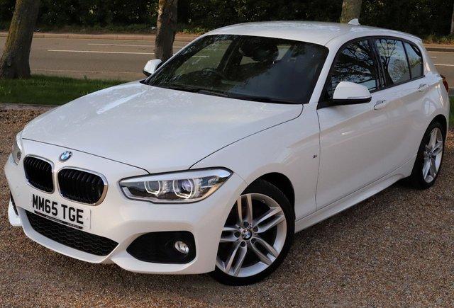 2015 65 BMW 1 SERIES 2.0 118D M SPORT 5d 147 BHP AUTOMATIC// VERY LOW MILEAGE!