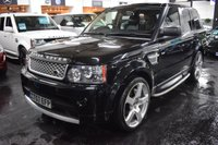 USED 2007 57 LAND ROVER RANGE ROVER SPORT 3.6 TDV8 SPORT HSE 5d 269 BHP *2010 CONVERSION* PX CLEARANCE - FULL 2010 AUTOBIOGRAPHY CONVERSION - 3.6 TDV8 - LEATHER NAV - REAR DVDS - SIDE STEPS - PRIVACY - 22 INCH ALLOYS