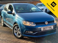 USED 2017 17 VOLKSWAGEN POLO 1.2 MATCH EDITION TSI DSG 5dr  Full VW History, Front and rear sensors.