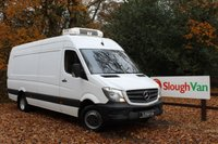 USED 2015 MERCEDES-BENZ SPRINTER 2.1 516 CDI XLWB FRIDGE VAN WITH STAND BY PLUG Fridge Van With 3 Phase Overnight Stand By Plug