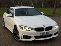 USED 2017 17 BMW 4 SERIES 2.0 420D M SPORT 2d 188 BHP